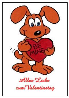Alles Liebe Zum Valentinstag ...