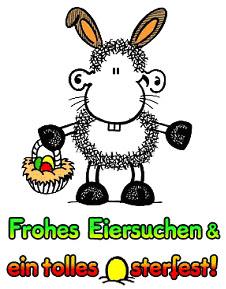 Frohes Eiersuchen und tolles osterfest!