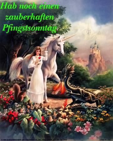 Hab noch einen zauberhaften Pfingstsonntag