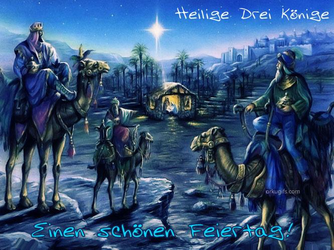 Heilige Drei Könige. Einen schönen Feiertag!