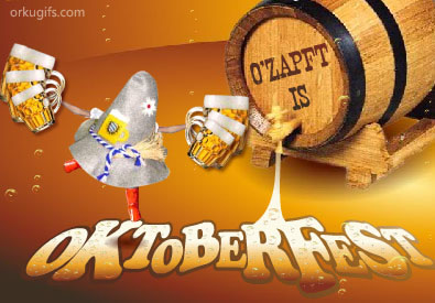 O'Zapft is - Oktoberfest