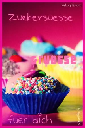 Zuckersüße Grüße für Dich