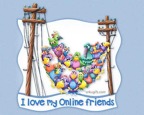 my online friends