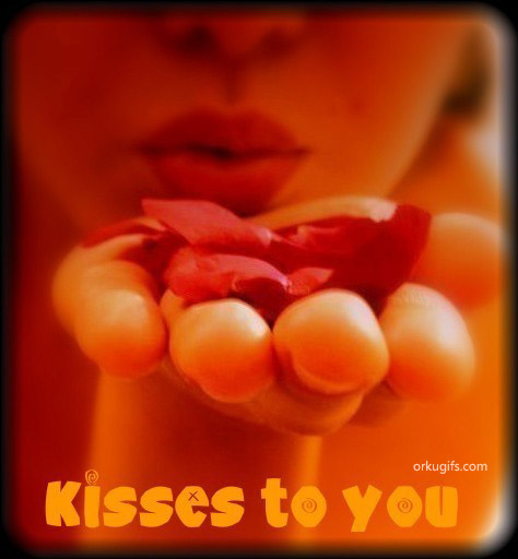 Kisses to you - Images and gifs for social networks