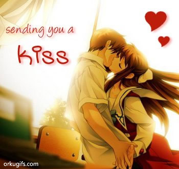 Sending you a kiss