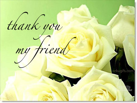 Thank you my friend