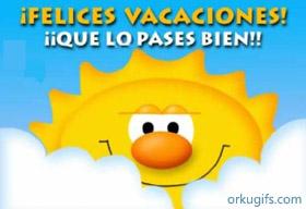 ¡Felices Vacaciones! ¡Que los pases bien!