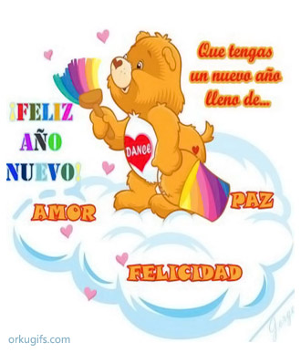 Feliz Ao Nuevo! Que tengas un ao lleno de Amor, Paz y Felicidad