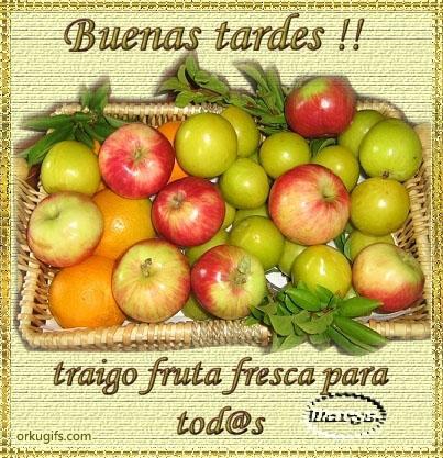 Buenas Tardes! Traigo fruta fresca para todos