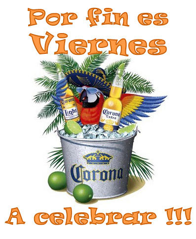 Por fin es Viernes. A celebrar!