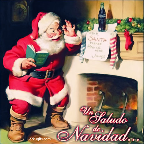 Un saludo de Navidad... - Imágenes para redes sociales