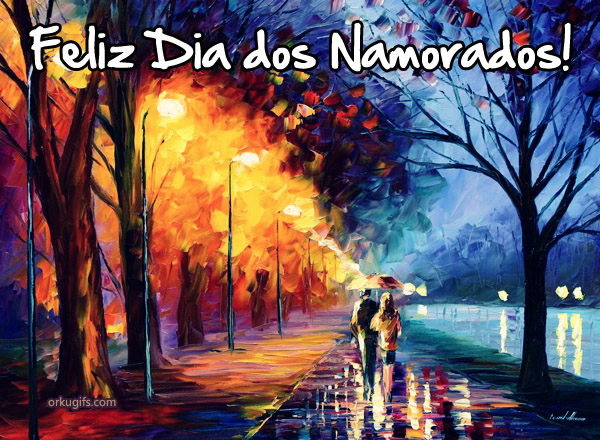  Feliz Dia dos Namorados!