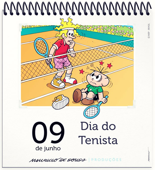 09 de Junho - Dia do Tenista