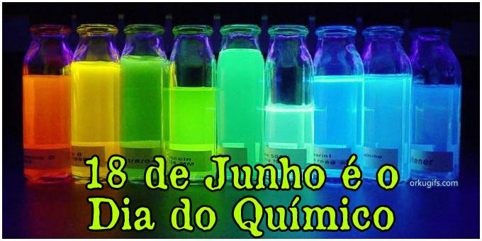 18 de Junho é o Dia do Químico
