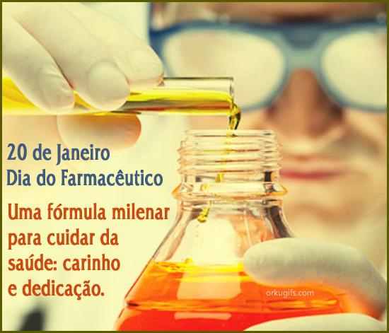 20 de Janeiro - Dia do Farmacêutico. Uma fórmula milenar para cuidar da saúde: carinho e dedicação