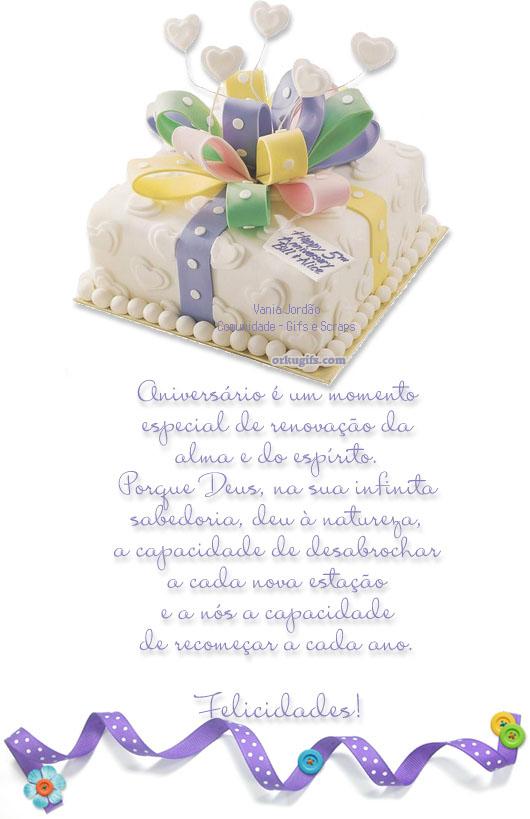 Aniversário é um momento especial. Felicidades - Recados e Imagens para orkut, facebook, tumblr e hi5