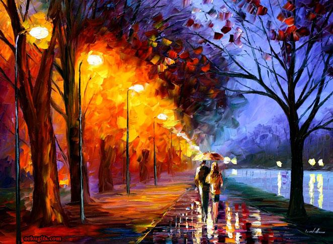 Anoitecer romântico