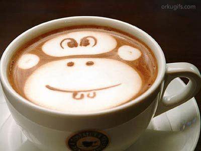 Arte no café