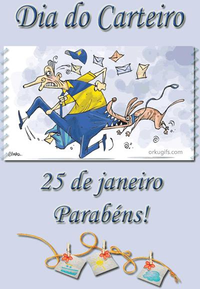 Dia do Carteiro - 25 de Janeiro. Parabéns!