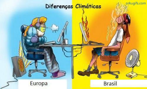 Diferenças climáticas