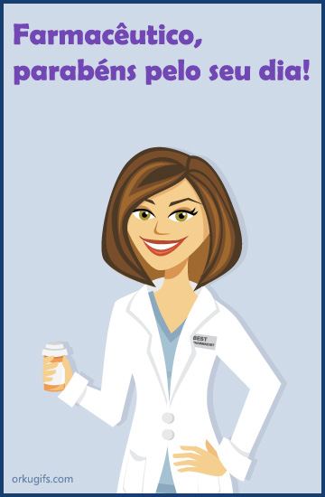 Farmacêutico, parabéns pelo seu dia!