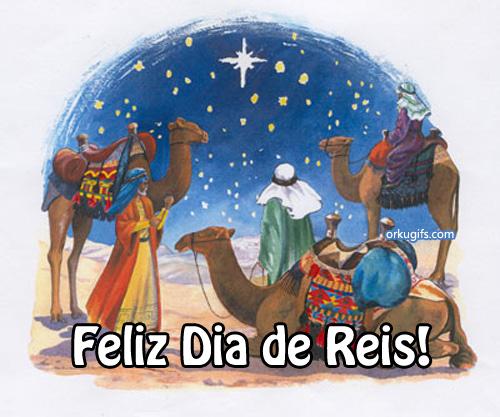 Feliz Dia de Reis!
