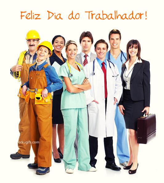 Feliz Dia do Trabalhador! - OrkuGifs