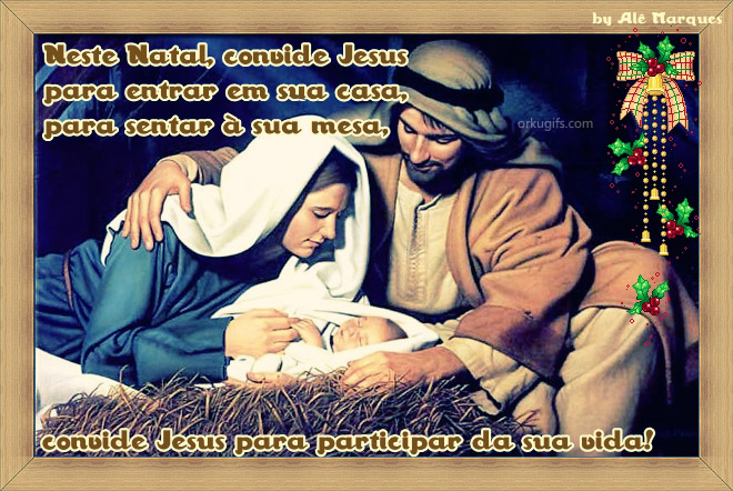 Neste Natal, convide Jesus 