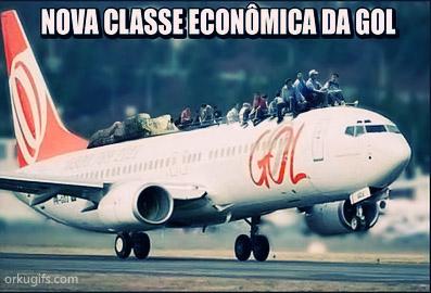 Nova classe econômica da Gol
